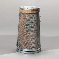 Säckhållare i sträckmetall - Papperskorgar
