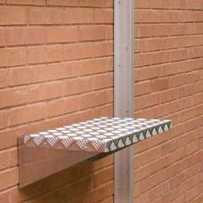 Utstigningsplattform till räddningsstege -