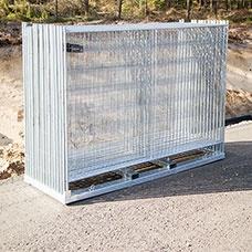 105 m Byggstängsel Anti Klättring komplett kit  - Stängsel