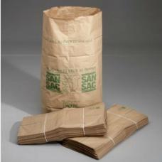 Sopsäckar av våtstarkt kraftpapper enbladig 160L 1500 st -