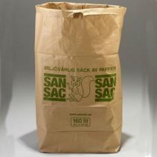 Sopsäckar av våtstarkt kraftpapper tvåbladig 160L 1500 st - Miljö & Avfallshantering