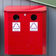 Behållare för ljuskällor 25L - Miljö & Avfallshantering