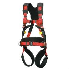 Komplett Fallskyddssele med väska och 10m rep med glidlås -