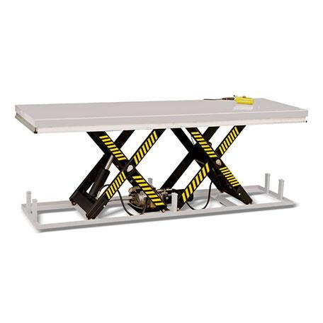 Stationärt Lyftbord, Höjdsax, 2000 kg, 820 x 2500 mm -