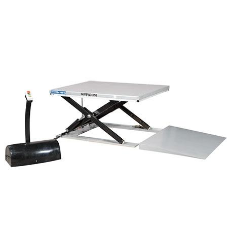 Lågprofillyftbord, 1000 kg, 1420 x 1140 mm -