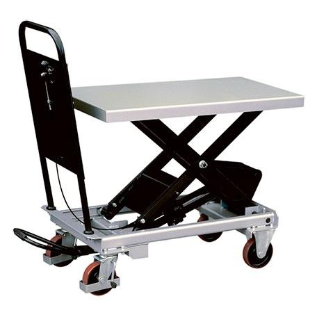 Mobilt Manuellt Lyftbord, 1000 kg, 520 x 1010 mm -