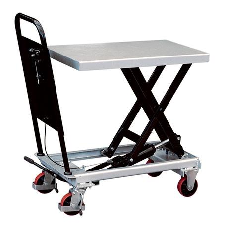 Mobilt Manuellt Lyftbord, 250 kg, 500 x 830 mm -
