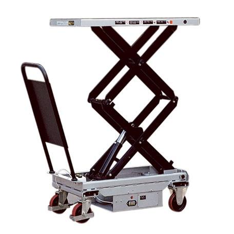 Mobilt Elektriskt Lyftbord, Dubbelsax, 800 kg, 520 x 1010 mm -