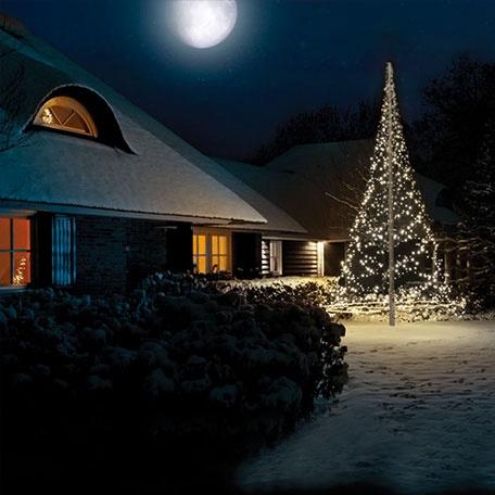 Flaggstångstillbehör - Julbelysning Fairybell