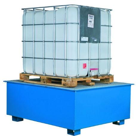 Miljöpall för 1 Cipax-behållare - Fatpallar & Fatbassänger