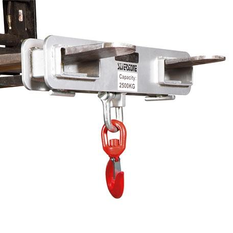 Gaffelkrok med Säkerhetsspärr, 2500 kg - Trucktillbehör