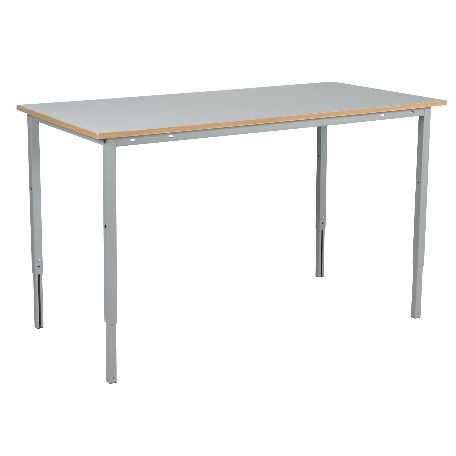 Justerbart arbetsbord med laminatskiva 1600mm - kapacitet 150 kg - Arbetsbord