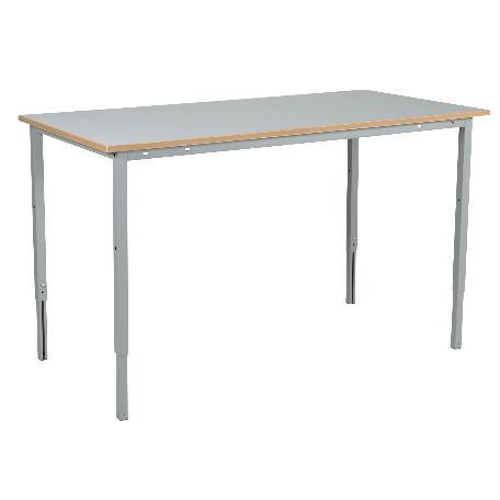 Justerbart arbetsbord med laminatskiva 2000mm - kapacitet 150 kg - Arbetsbord