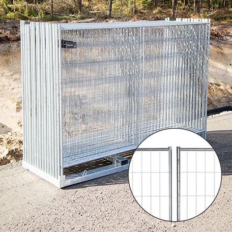 Byggstängsel - Byggstängsel Protect Original 105 m på transportpall