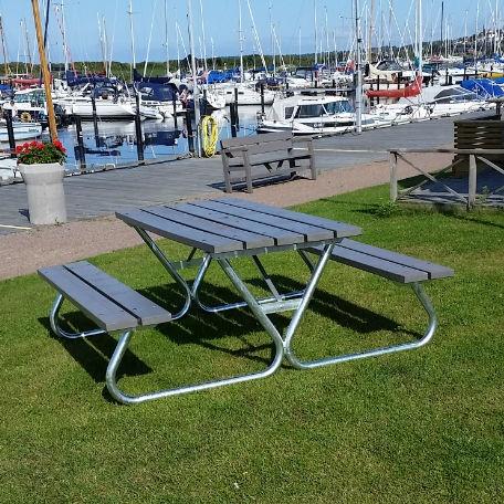 Picknickbord - Robust Picknickbord i grått