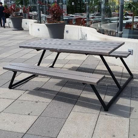 Picknickbord - Stockholm Picnic picknickbord i grått